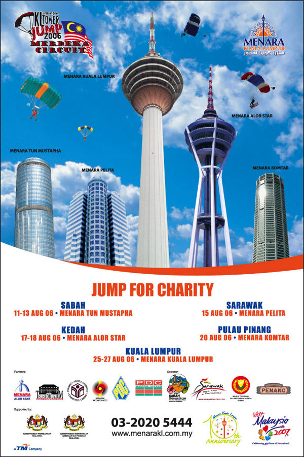 KL Tower International BASE Jump Merdeka Circuit 2006