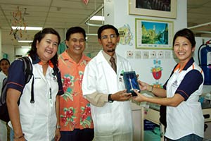 Sarawak General Hospital - Childrens Cancer Ward - Charity Visit