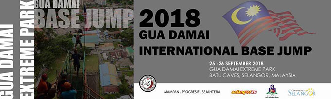 Gua Damai BASE Jump 2018